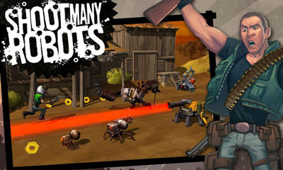 Download Shoot Many Robots Android free game. Get full version of Android apk app Shoot Many Robots for tablet and phone.