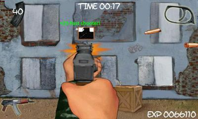 Screenshots of the Shooting Club for Android tablet, phone.