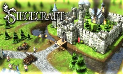 Screenshots of the Siegecraft for Android tablet, phone.