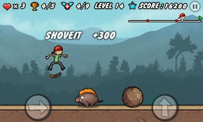 Screenshots of the Skater Boy for Android tablet, phone.