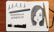 In addition to the game Pou for Android phones and tablets, you can also download Sketchbook adventure for free.
