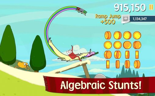 Screenshots of the Ski safari: Adventure time for Android tablet, phone.