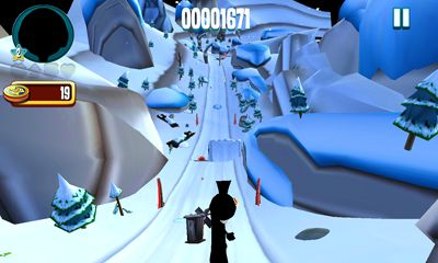 Screenshots of the Skiing Fred for Android tablet, phone.