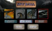 In addition to the game Angry Birds Rio for Android phones and tablets, you can also download Skyball for free.