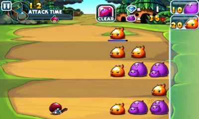 Screenshots of the Slime vs. Mushroom 2 for Android tablet, phone.