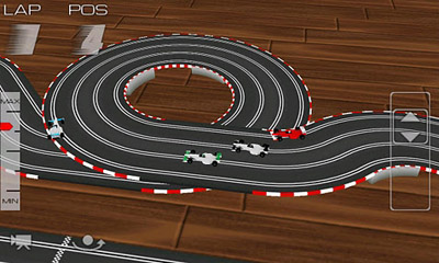 Screenshots of the Slot Racing for Android tablet, phone.