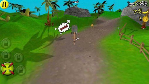 Smash the monkey - Android game screenshots. Gameplay Smash the monkey