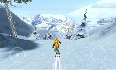 Screenshots of the Snowstorm for Android tablet, phone.