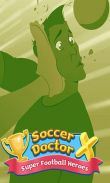 Soccer doctor X: Super football heroes free download. Soccer doctor X: Super football heroes full Android apk version for tablets and phones.
