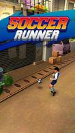 In addition to the game  for Android phones and tablets, you can also download Soccer runner: Football rush for free.