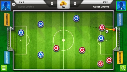 Screenshots of the Soccer stars for Android tablet, phone.