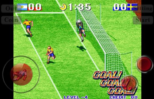 Screenshots of the Soccer world cup: Football kick for Android tablet, phone.