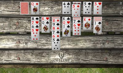 Screenshots of the Solitaire Zen for Android tablet, phone.