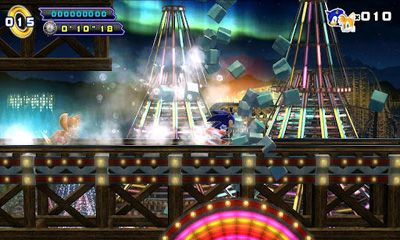 Screenshots of the Sonic The Hedgehog 4 for Android tablet, phone.