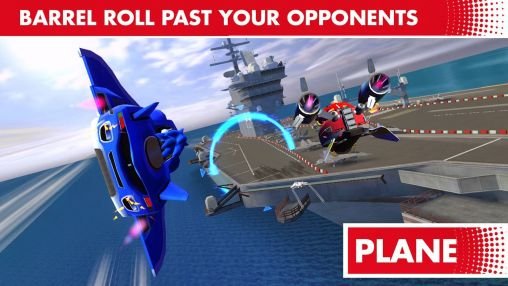 Screenshots of the Sonic & all stars racing: Transformed for Android tablet, phone.