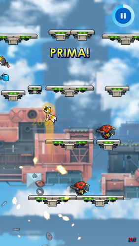 Screenshots of the Sonic jump: Fever for Android tablet, phone.