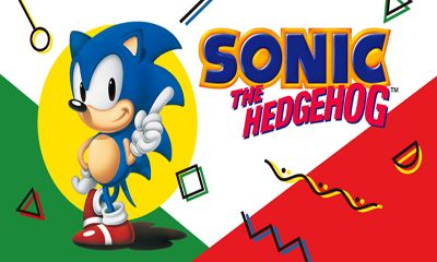 Screenshots of the Sonic The Hedgehog for Android tablet, phone.