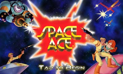 Screenshots of the Space Ace for Android tablet, phone.