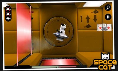 Screenshots of the SpaceCat for Android tablet, phone.