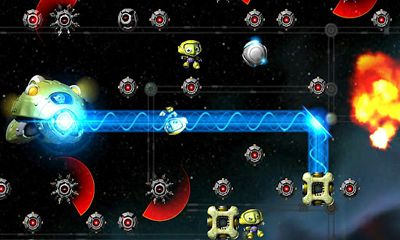 Screenshots of the Spacelings for Android tablet, phone.