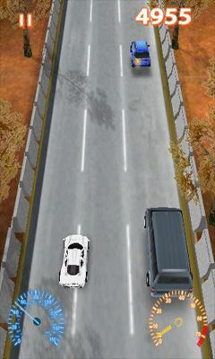 Screenshots of the Speed Car for Android tablet, phone.