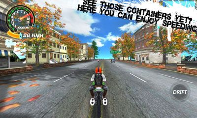 Screenshots of the SpeedMoto2 for Android tablet, phone.