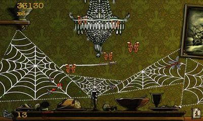 Screenshots of the Spider Secret of Bryce Manor for Android tablet, phone.