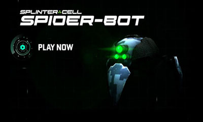 Screenshots of the Splinter Cell Blacklist Spider-Bot for Android tablet, phone.