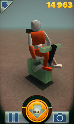 Screenshots of the Stair Dismount for Android tablet, phone.