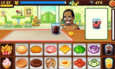 Screenshots of the Star chef for Android tablet, phone.