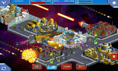 Screenshots of the Star command for Android tablet, phone.