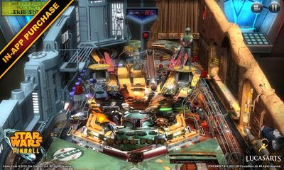 Screenshots of the Star Wars Pinball for Android tablet, phone.