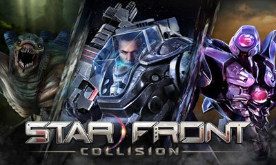 Screenshots of the Starfront Collision HD for Android tablet, phone.