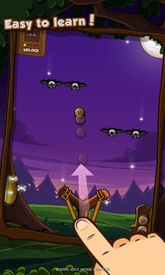 Screenshots of the Starry Nuts for Android tablet, phone.