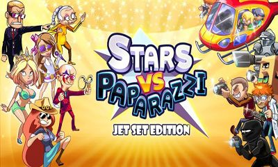 Screenshots of the Stars vs. Paparazzi for Android tablet, phone.