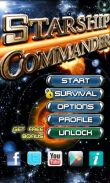 In addition to the game City Island for Android phones and tablets, you can also download Starship Commander for free.