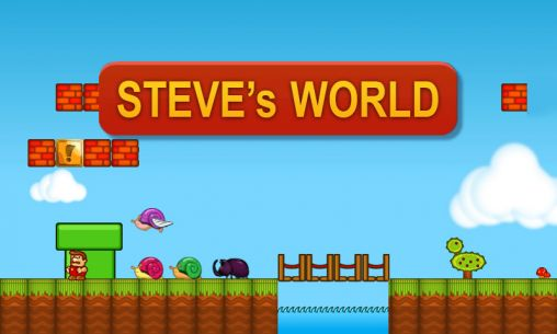 Download Steve's world Android free game. Get full version of Android apk app Steve's world for tablet and phone.