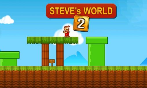 Download Steve's world 2 Android free game. Get full version of Android apk app Steve's world 2 for tablet and phone.