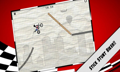 Screenshots of the Stick Stunt Biker for Android tablet, phone.