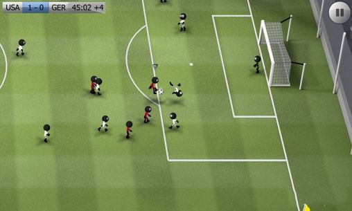 Screenshots of the Stickman soccer for Android tablet, phone.