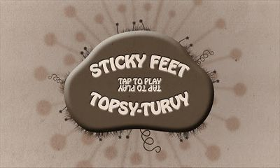 Screenshots of the Sticky Feet Topsy-Turvy for Android tablet, phone.