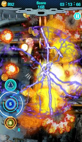 Screenshots of the Storm fighters for Android tablet, phone.