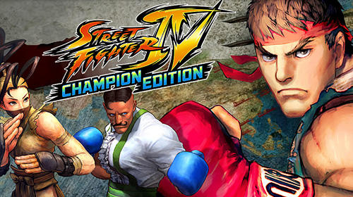 Screenshots of the Street Fighter IV HD for Android tablet, phone.