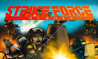 Screenshots of the Strike Force: Heroes for Android tablet, phone.