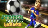 In addition to the game  for Android phones and tablets, you can also download Striker Soccer London for free.