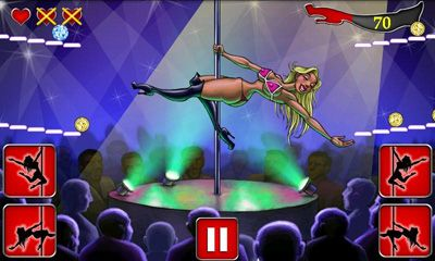 Screenshots of the Strip Club XXL for Android tablet, phone.
