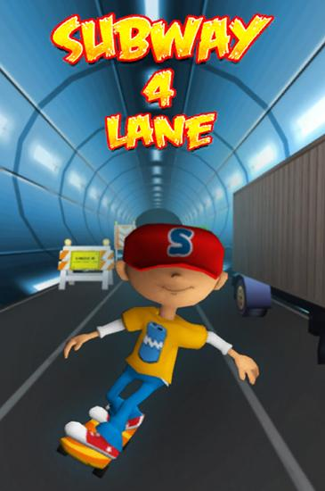 Download Subway 4 lane: Surfer Android free game. Get full version of Android apk app Subway 4 lane: Surfer for tablet and phone.