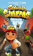 In addition to the game Minecraft Pocket Edition for Android phones and tablets, you can also download Subway Surfers for free.