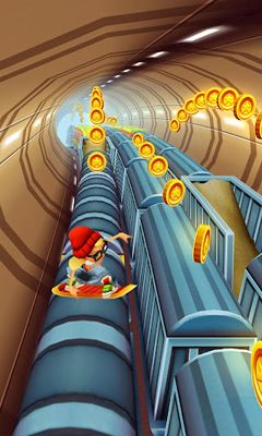Screenshots of the Subway Surfers for Android tablet, phone.