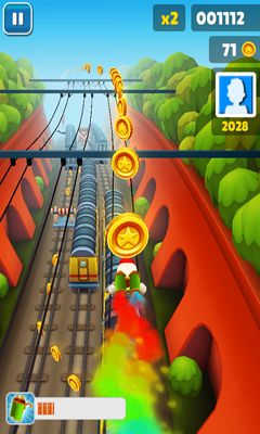 Subway Surfers - Android game screenshots. Gameplay Subway Surfers.